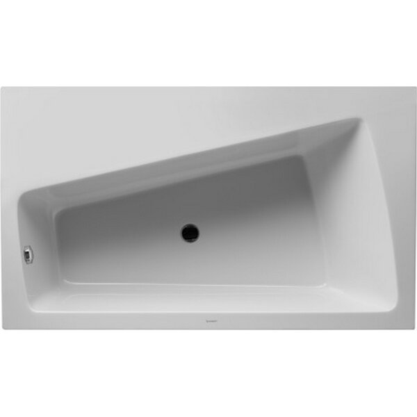 Paiova 66.87 x 39.37 Soaking Bathtub by Duravit