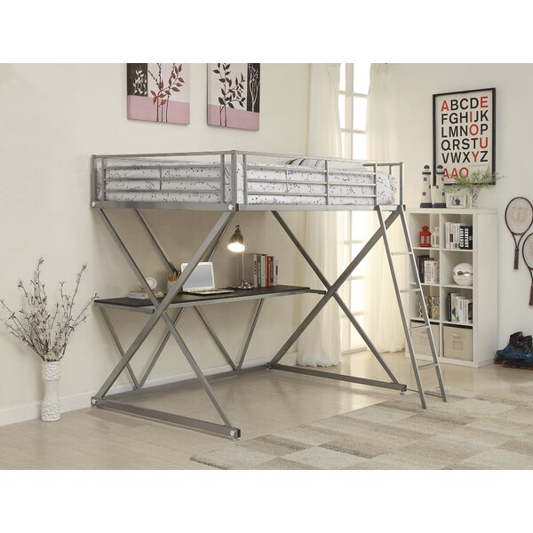 West Bridgewater Metal Workstation Bunk Configuration Bed by Zoomie Kids