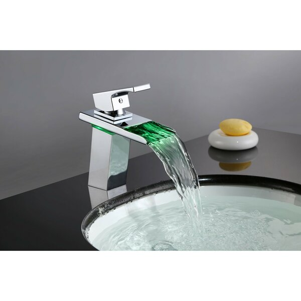 Waterfall Single Hole Bathroom Faucet by Sumerain International Group