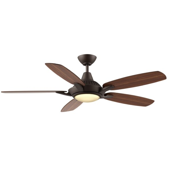 52 Vandeusen 5 Blade LED Ceiling Fan by Winston Porter