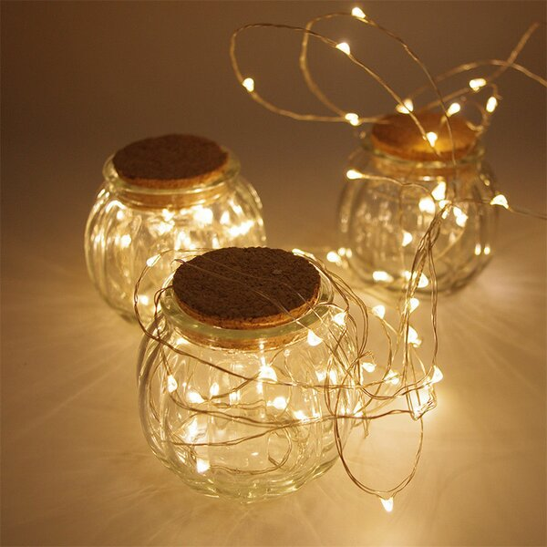 Timer 40 LED String Lights by The Holiday Aisle