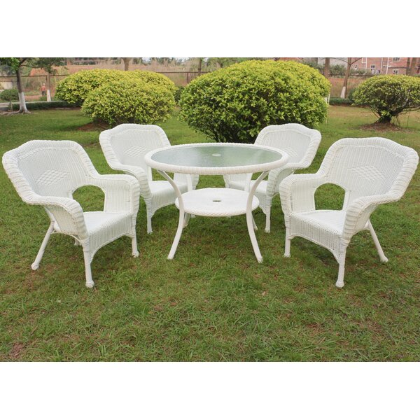 Ovalle 5 Piece Dining Set By August Grove by August Grove Sale