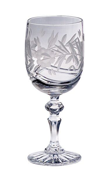 Victoria 9 Oz. Crystal Glass (Set of 4) by Majestic Crystal
