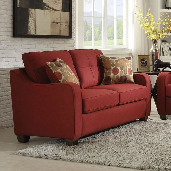 Valuable Today Orchard Hill Loveseat by Winston Porter by Winston Porter