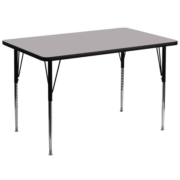72 x 36 Rectangular Activity Table by Flash Furnit