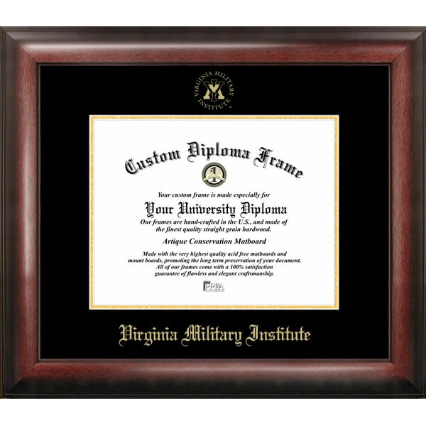 NCAA Virginia Military Institute Diploma Picture Frame by Campus Images