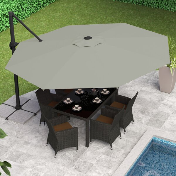 Gribble 11 Cantilever Umbrella By Beachcrest Home.