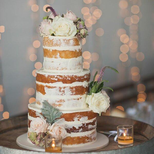 Round 5 Piece Naturals Wedding Cake Pan Set by Nor