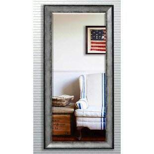 Palmer Rectangle Gray Beveled Wall Mirror By17 Stories