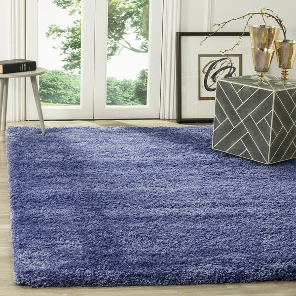 Enrique Periwinkle Area Rug by Zipcode Design