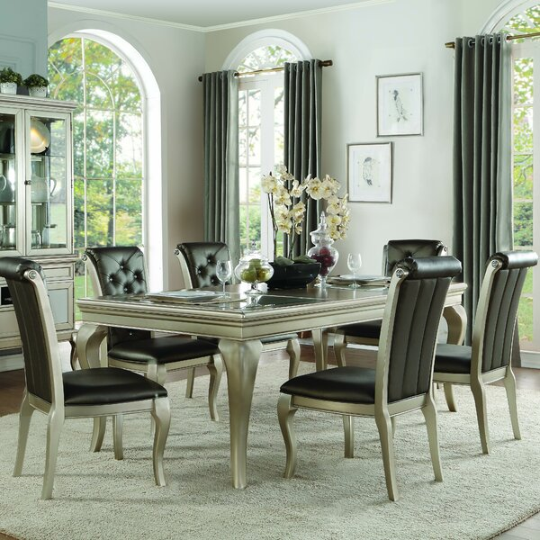 Marisol 7 Piece Dining Set by Rosdorf Park