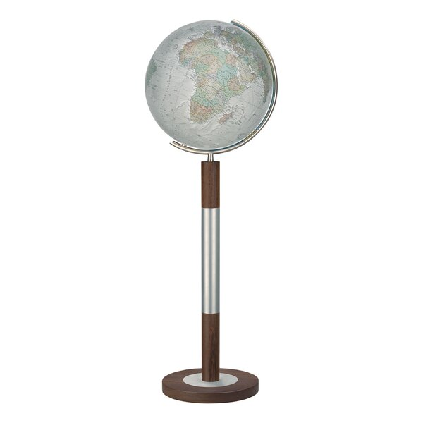 Bremen Duo Alba Illuminated Floor Globe by Columbus Globe