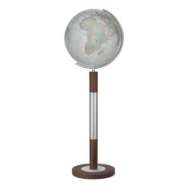 Bremen Duo Alba Illuminated Floor Globe by Columbus Globe