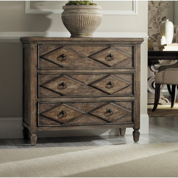 Rhapsody 3 Drawer Accent Chest by Hooker Furniture Hooker Furniture