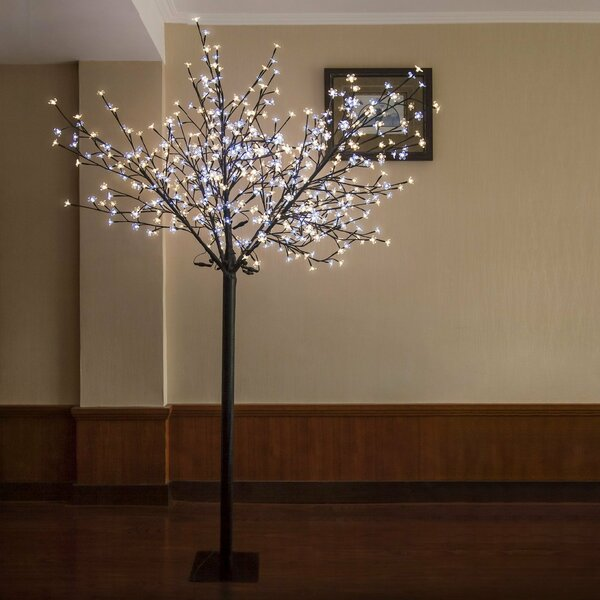 Cherry Blossom Flower Tree Decoration Warm 600 Lights by The Holiday Aisle