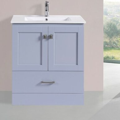 Landrum Modern 30 Single Bathroom Vanity Set by Latitude Run
