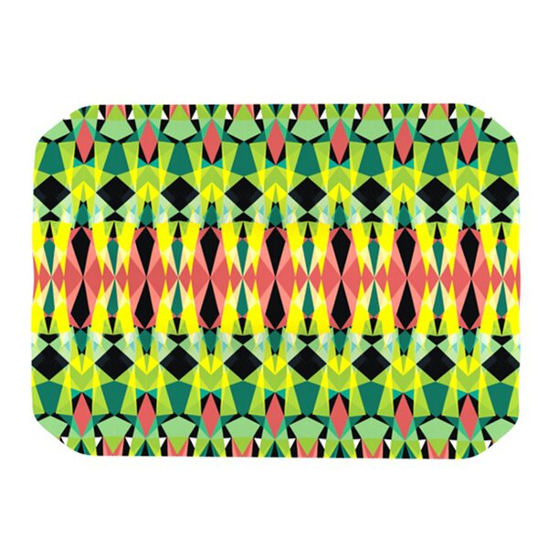 Triangle Visions Placemat by KESS InHouse