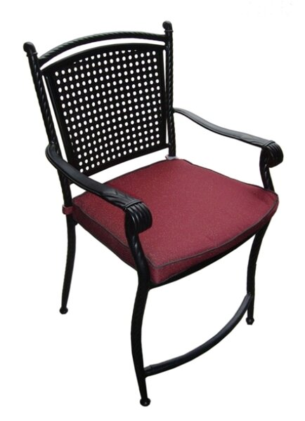 Patio Dining Chair with Cushion by DC America