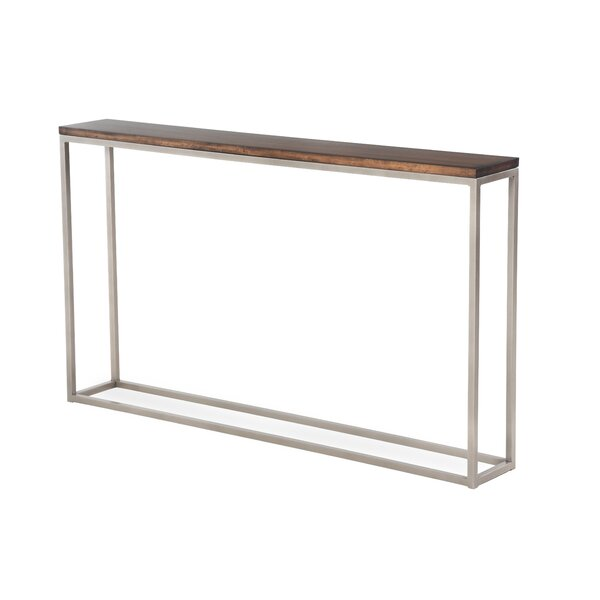 Chaplin Console Wood Table By Joe Ruggiero Collection