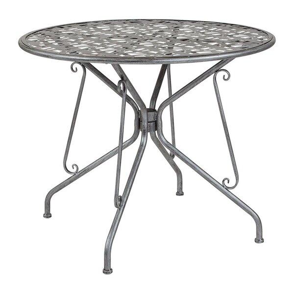 Tanksley Metal Bistro Table by Winston Porter Winston Porter