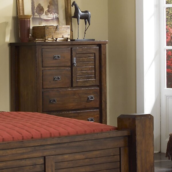 Worksop 5 Drawer Gentleman Chest by Loon Peak