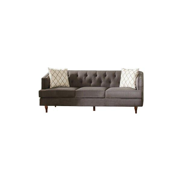 Jamel Curved Sofa by One Allium Way One Allium Way