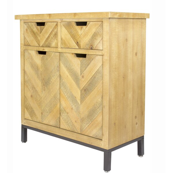 Homerville 2 Door Accent Cabinet by Foundry Select