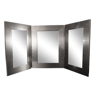 Trifold Bathroom Vanity Mirror