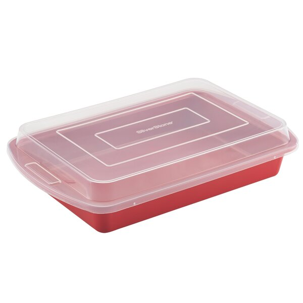 Nonstick Covered Cake Pan by SilverStone