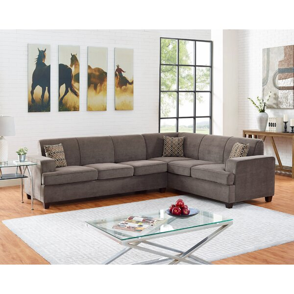 Premium Shop Mendes Right Hand Facing Sleeper Sectional by Latitude Run by Latitude Run
