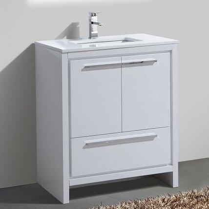 Bosley 30 Modern Bathroom Vanity by Mercury Row