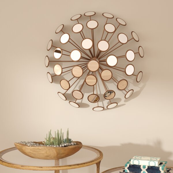 Contemporary Decorative Starburst Accent Mirror by Brayden Studio