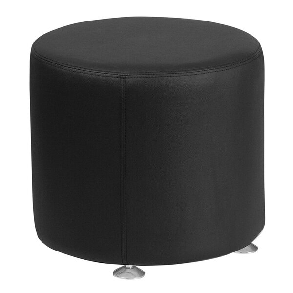 Acord Leather Ottoman by Orren Ellis
