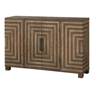 Affordable Cleo Geometric 2 Door Accent Cabinet By Bungalow Rose