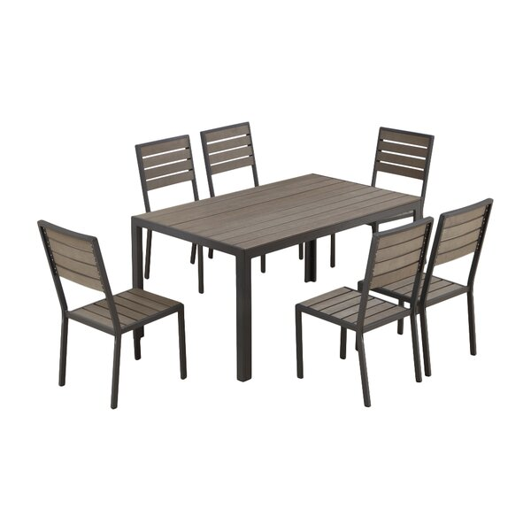 Tyrel 7 Piece Dining Set by Bayou Breeze