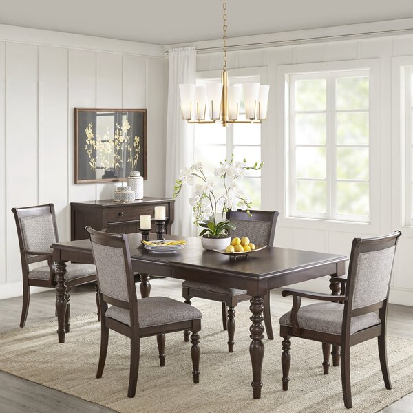 Beckett 5 Piece Drop Leaf Dining Set by Madison Park Signature