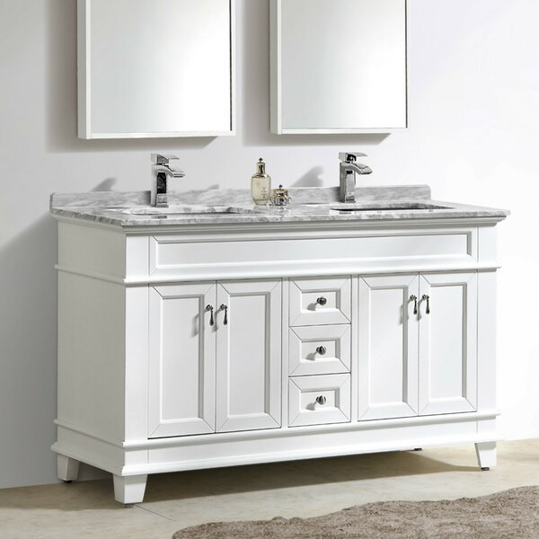 Bryton 59 Double Bathroom Vanity Set by Charlton Home