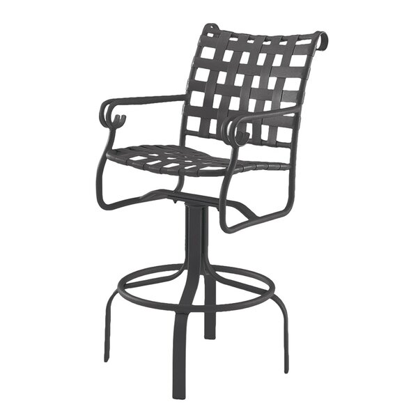Ramsgate 29 Swivel Patio Bar Stool by Woodard