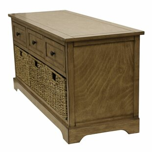Review Ardina Wood Storage Bench by Beachcrest Home