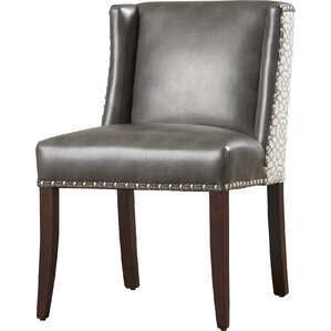Marlin Genuine Leather Upholstered Dining Chair (Set of 2) by Sunpan Modern