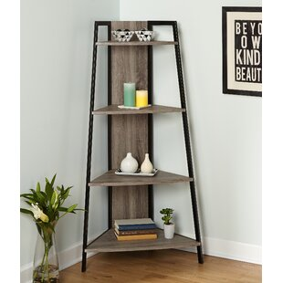 Best Cottrell Corner Unit Bookcase By Wrought Studio