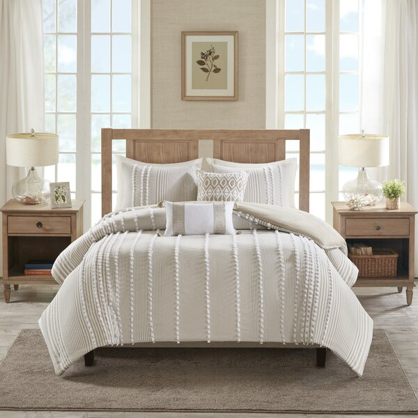 Anslee Cotton 3 Piece Comforter Set
