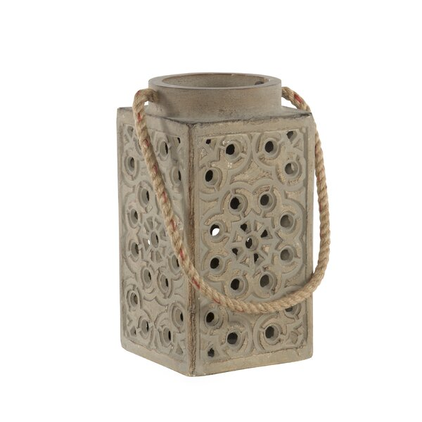 Roanoke Island Ceramic Lantern by Panama Jack Home