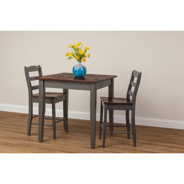 Eve Counter Height Maple Solid Wood Dinning Table by Gracie Oaks Gracie Oaks