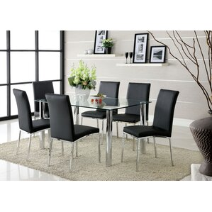 Modern Metal Dining Chairs AllModern - Alyssa dining room set