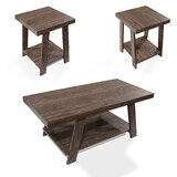 Victoria 3 Piece Coffee Table Set by Loon Peak®
