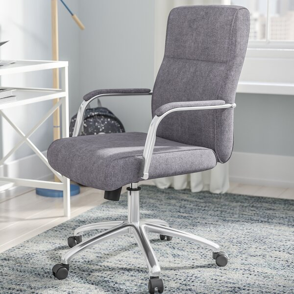 Walburn Modern Conference High-Back Executive Chair by Wrought Studio