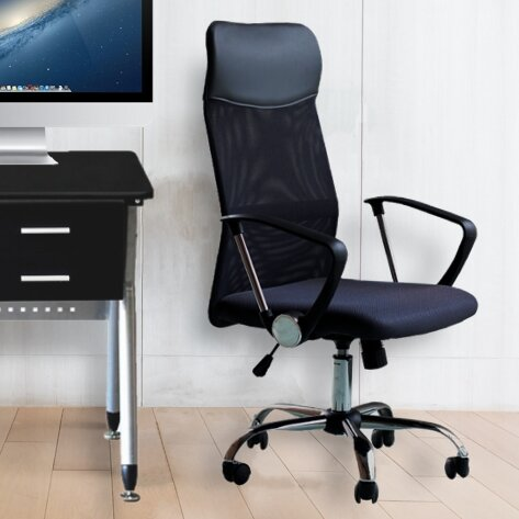 Berwick High-Back Mesh Office Chair by Symple Stuff