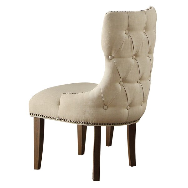 Sylvia Upholstered Side Chair by Greyleigh