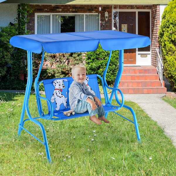 Wiesner Porch Swing by Zoomie Kids